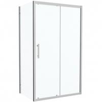 Душевой уголок с одной раздвижной дверью Bravat Stream BS120.3103S Хром