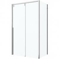 Душевой уголок с одной раздвижной дверью Bravat Slim Line BS120.3104A Хром
