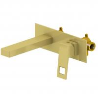 Смеситель для раковины TIMO Briana 7171/17SM Золото матовое