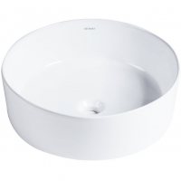 Раковина накладная Bravat Affability C22284W-ENG Белый