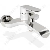 Cмеситель для ванны Iddis Calipso CALSB00i02WA Белый/Хром без д/к