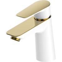 Cмеситель для раковины Iddis Cloud CLOWG00i01 Белый/золото
