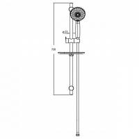 Душевой комплект Bravat Waterfall D154CP-2-RUS Хром