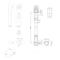 Гигиенический душ Bravat D91112CP-RUS Хром