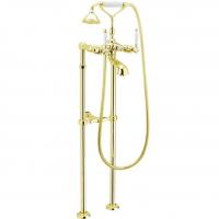 Cмеситель для ванны напольный Webert Dorian DO720801010 Золото