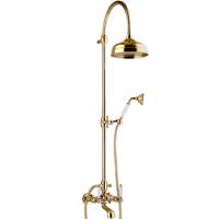 Душевая система Webert Dorian DO721208010 Золото