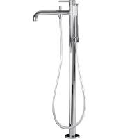 Cмеситель для ванны напольный Webert Elio EL851101015 Хром