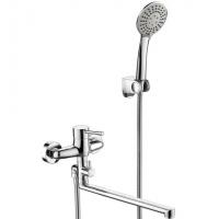Cмеситель для ванны Bravat Slim F6332366CP-01L-RUS Хром