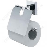 Бумагодержатель с крышкой Fixsen Metra FX-11110 Хром
