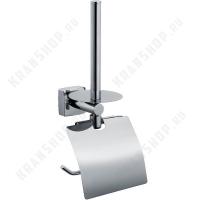 Бумагодержатель +держатель запасного рулона Fixsen Kvadro FX-61310Е Хром