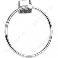 Полотенцедержатель кольцо Fixsen Kvadro FX-61311 Хром
