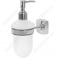 Дозатор жидкого мыла Fixsen Kvadro FX-61312 Хром