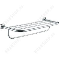 Полка для полотенец  Fixsen Kvadro FX-61315 Хром