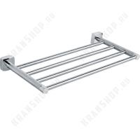 Полка для полотенец  Fixsen Kvadro FX-61316 Хром