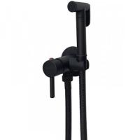 Смеситель встраиваемый с гигиеническим душем Grohenberg GB001 Black Matt