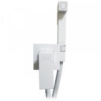 Смеситель встраиваемый с гигиеническим душем Grohenberg GB002 White