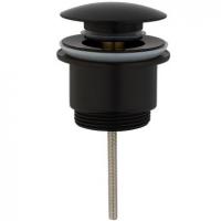 Донный клапан для раковины Grohenberg GB106 Black Matt