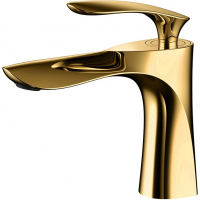 Смеситель для раковины Grohenberg GB2001 Gold