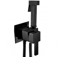 Смеситель встраиваемый с гигиеническим душем GANZER GZ72101C-SET BLACK