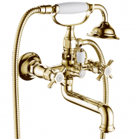 Cмеситель для ванны GANZER OTTO GZ15032-E GOLD
