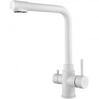 Cмеситель для кухни под фильтр HANSEN H15085F Белый
