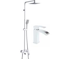 Набор для ванны 2 в 1 HANSEN H37044F Белый
