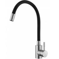 Смеситель для кухни с гибким изливом HANSEN H59304GC Хром/Черный