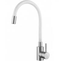 Смеситель для кухни с гибким изливом HANSEN H59304GF Хром/Белый