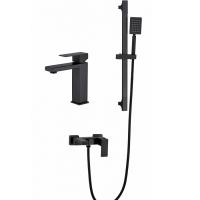 Набор для ванны 3 в 1 HANSEN H91304-C Черный матовый