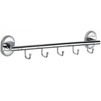 Планка с 5-ю крючками HANSEN HA31016-5 Хром