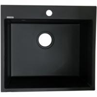Кухонная мойка Kaiser KMM-5056 BS Black/Silver