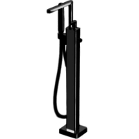 Cмеситель для ванны напольный Webert Living LV851101560 Черный матовый