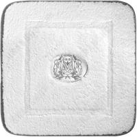 Коврик для ванной Migliore Complementi ML.COM-50.021.10 Белый/декор серебро