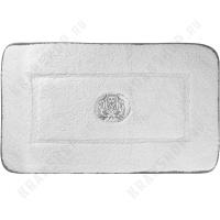 Коврик для ванной Migliore Complementi ML.COM-50.025.10 Белый/декор серебро