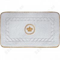 Коврик для ванной Migliore Complementi ML.COM-50.100.BI.24 Белый/декор золото
