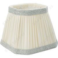 Абажур Migliore Complementi ML.COM-50.685.10 Белый/декор серебро