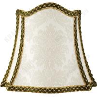 Абажур Migliore Complementi ML.COM-50.687.03 Белый/декор золото