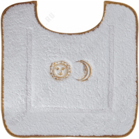 Коврик Migliore Complementi ML.COM-50.PWC.BI.62 Белый/декор золото