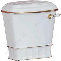 Бачок моноблока Migliore Gianeta ML.GNT-25.808.D1 Белый/декор золото
