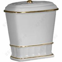 Бачок моноблока Migliore Gianeta ML.GNT-25.848.D1 Белый/декор золото