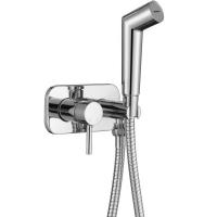 Смеситель встраиваемый с гигиеническим душем Altrobagno Metropoli 060109 Cr Хром
