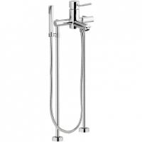 Cмеситель для ванны напольный Remer Minimal N02XL Хром