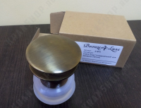 Донный клапан для раковины без перелива Bronze de Luxe 21972/1