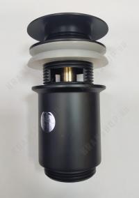 Донный клапан для раковины Kaiser 8011Bl Black