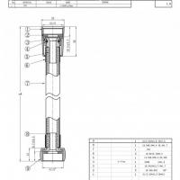 Шланг для душа Bravat P7231N-1-RUS Хром