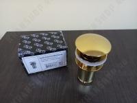 Донный клапан для раковины KorDi KD A706 Gold