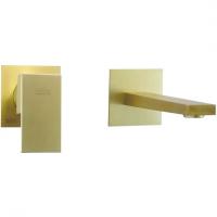 Cмеситель для раковины высокий Webert Pegaso PE830606794 Золото матовое