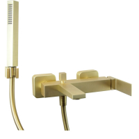 Cмеситель для ванны Webert Pegaso PE850101794 Золото матовое