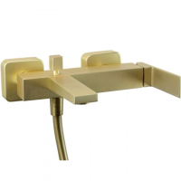 Cмеситель для ванны (без душевого гарнитура) Webert Pegaso PE850102794 Золото матовое