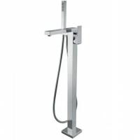Cмеситель для ванны напольный Webert Pegaso PE851101015 Хром